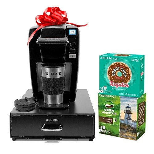 Keurig K15 Single Serve Coffee Maker Bundle