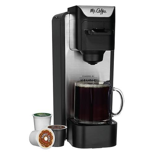 mr coffee kcup brewing system with reusable grounds filter